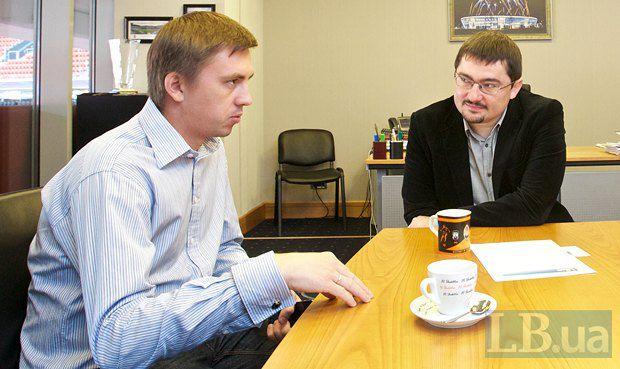 Александр Атаманенко(справа) и Андрей Бабешко