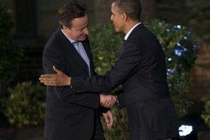 Кемерон і Обама мають намір заявити про підтримку України на саміті G7