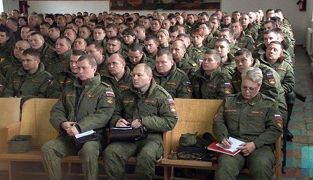 Учения в Оперативной группе российских войск, Тирасполь, декабрь, 2015.