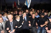 Наливайченко оштрафовали за прорыв границы