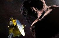 Зонд New Horizons долетів до астероїда Ультіма Туле на околиці Сонячної системи