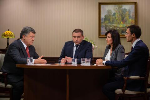 В Украине пока не мир, но перемирие, - Порошенко
