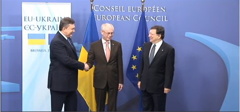 Саммит Украина-ЕС. 2013-й год