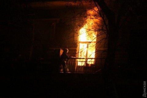У центрі Одеси в будинку-пам'ятці архітектури згоріли три квартири