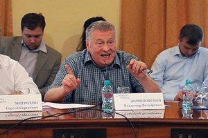 Жириновський вилаяв Водянову за допомогу Кримську