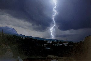 МНС: з понеділка Україну охоплять урагани