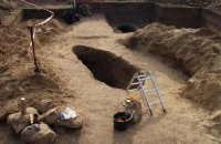 На Хортице археологи нашли 2500-летнее захоронение скифского воина