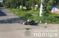 13-річний водій мопеда загинув внаслідок ДТП в Одеській області, його 7-річний пасажир - у реанімації
