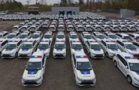Полицейские получили первую партию гибридных Mitsubishi