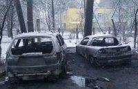 У Коцюбинському згорів автомобіль депутата Ірпінської міськради