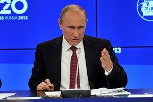 Путин: Россия может согласиться на военный удар по Сирии