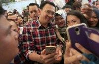 Губернатора Джакарты обвинили в богохульстве