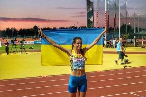 Две украинские легкоатлетки выиграли молодежный чемпионат Европы