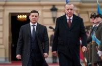 """Ердоган у Києві привітав військових почесної варти словами """"Слава Україні!"""""""