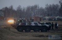 Звуки взрывов в Киеве раздавались из-за стрельб на полигоне Нацгвардии