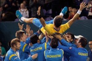 Екс-українець вивів Казахстан у чвертьфінал Кубка Девіса