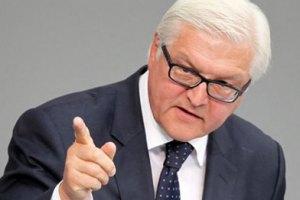 Штайнмаєр: ЄС домагатиметься дипломатичного розв'язання конфлікту на Донбасі