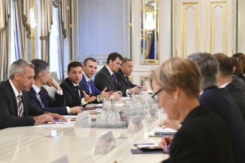 Зеленский встретился с послами G7, ЕС и НАТО