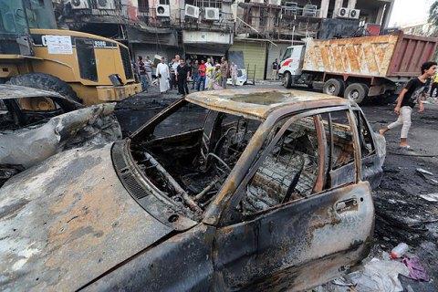 Під час вибуху автомобіля в Багдаді загинули 12 людей