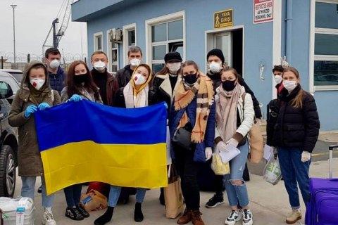 Из Турции прибыл паром с 35 украинцами