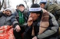 Чернобыльцы из-под Кабмина разъехались по домам