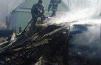 В Житомирской области пожар сухостоя едва не уничтожил село