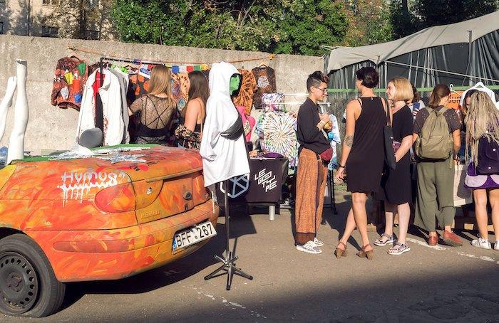 Гараж-сейл фестиваля