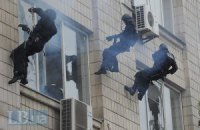 """СБУ сегодня """"борется с террористами"""" возле посольства Израиля"""