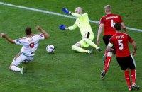 Сборная Венгрии выиграла у Австрии на Евро-2016