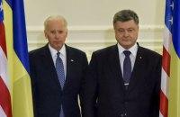 Байден призвал Порошенко продолжать реформы