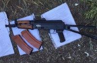 Возле Кабмина задержали 15-летнего подростка с автоматом Калашникова
