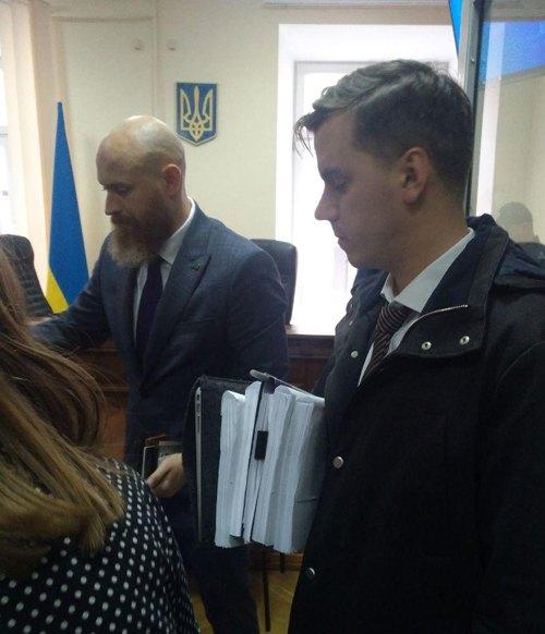 Адвокат Дмитро Круговий на суді щодо Антоненка