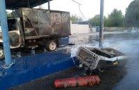 В Запорожье во время заправки автомобиля взорвался газовый баллон