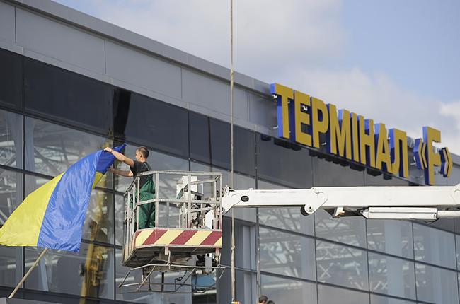 Аэропорт Борисполь откроет терминал F в 2019г.