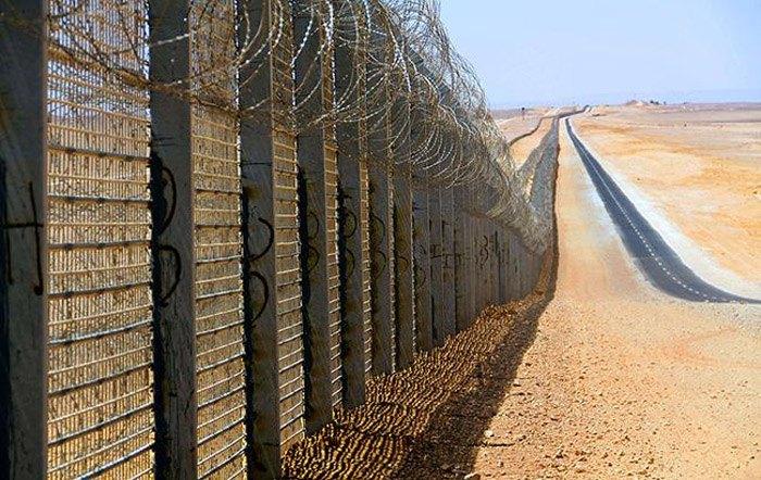 Граница Израиля и сектора Газа