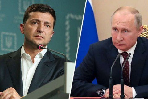 В Кремле не исключают разговора Путина и Зеленского о газе в Париже