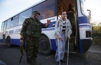З полону бойовиків звільнили ще чотирьох людей