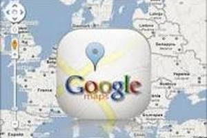 Карты Google для Android заработали в Украине без интернета
