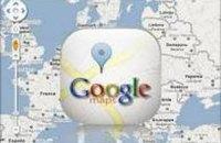 Карти Google для Android запрацювали в Україні без Інтернету