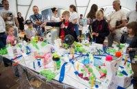 """Діти створили понад 20 проектів """"розумних міст"""" під час фестивалю ARCHIKIDZ!"""