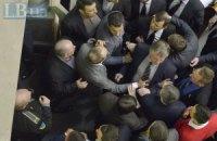 Регламентный комитет Рады рассмотрит драку депутатов