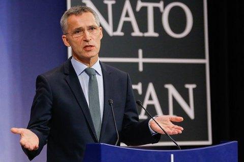Столтенберг: НАТО підтримує Україну політично і практично