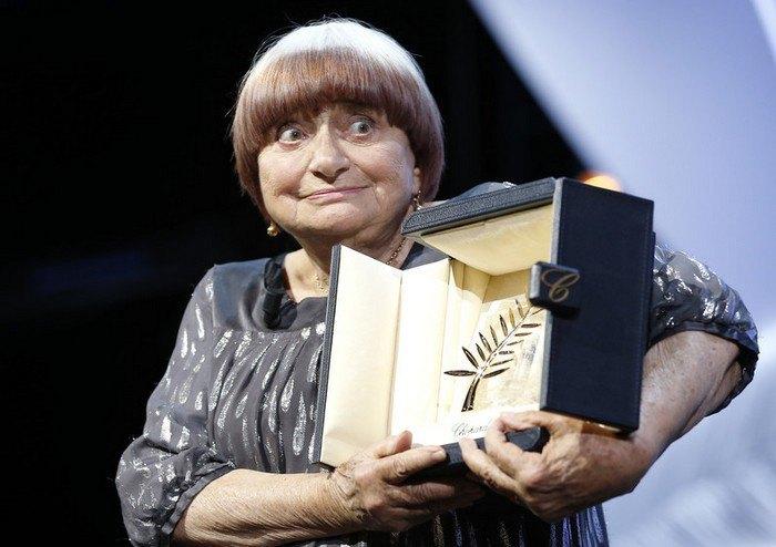 Аньєс Варда отримує почесну & quot; Золоту пальмову гілку & quot; Каннського кінофестивалю