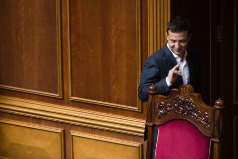 Президент Зеленский приедет в Раду