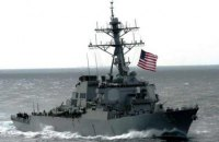 В Черное море вошел американский эсминец с системой ПРО