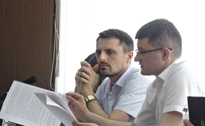 Прокурори САП Валентин Мусіяка та Максим Кравченко