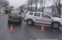 В Тернополе попал в ДТП автомобиль, перевозивший вакцины