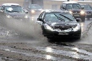 Завтра в Киеве обещают мокрый снег