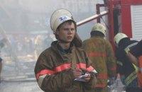 Під Васильковом горіла нафтобаза, яка межує з військовим аеродромом