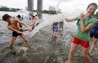 У понеділок у Києві спека до +33 градусів